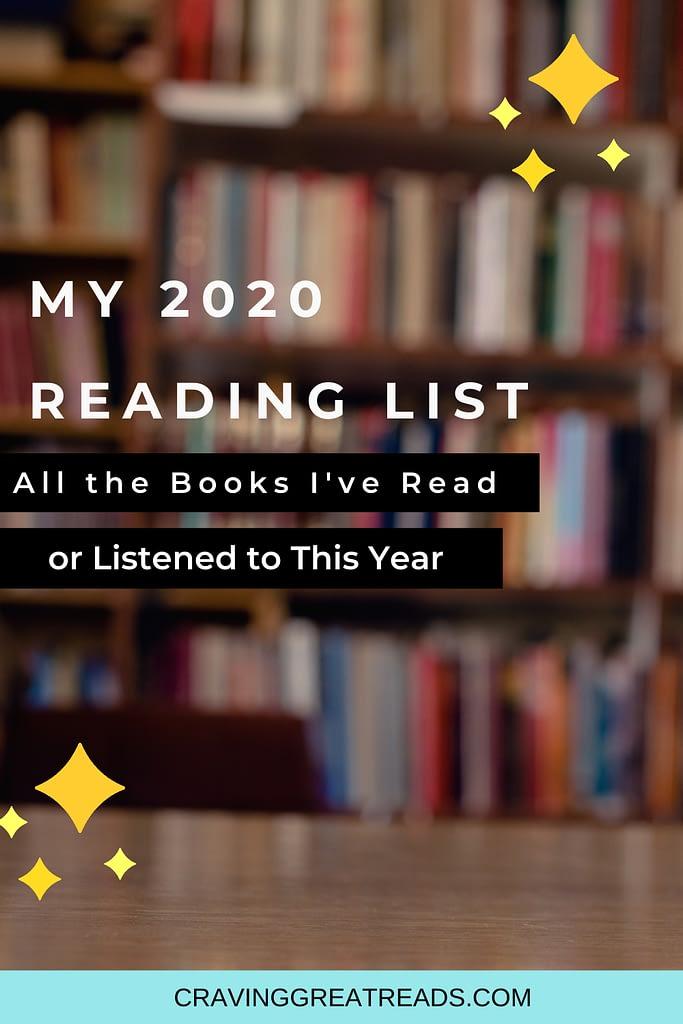 2020 reading list cravinggreatreads blog