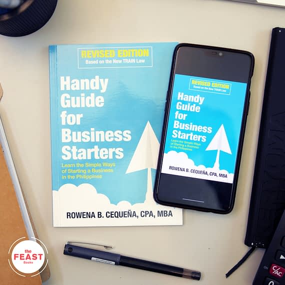 The Handy Guide for Business Starters by Rowena B. Cequena